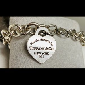 Tiffany & Co classic chain link bracelet